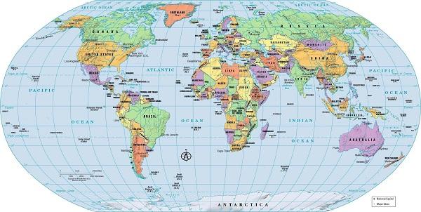 Кроссворд по географии страны мира