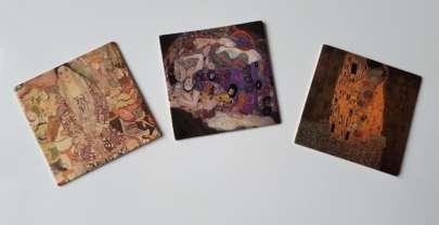 Игра для развития памяти и внимания по мотивам творчества Климта